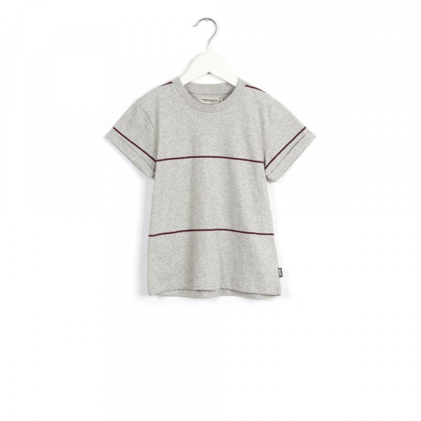 T-shirt crazygrey/cherry